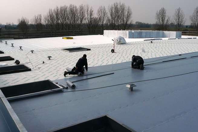 Kunststof dakbedekking (nieuwbouw)