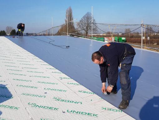 Aanbrengen isolatie en dakbedekking Bouwmaterialenhandel Zaltbommel