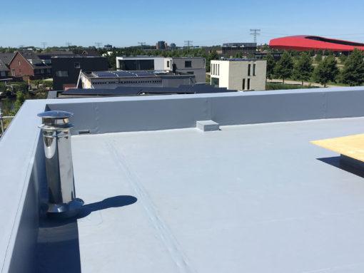 Horaplan 400/D® kunststof dakbedekking op nieuwbouwwoning Utrecht