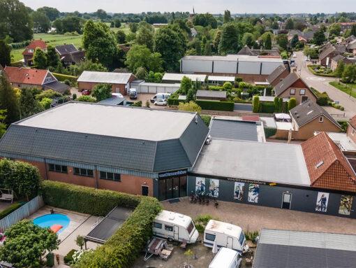 Renovatie dakbedekking showroom en werkplaats fietsenmaker Wijk en Aalburg